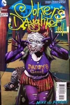 Joker's daughter comic book rare front cover alt