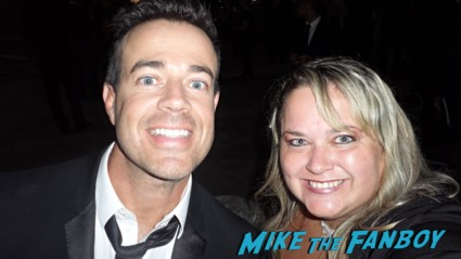 Carson Daly fan photo signing autographs rare promo emmy awards