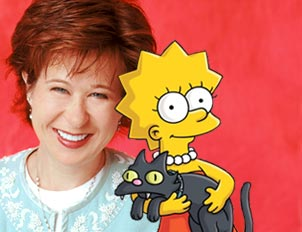 yeardley smith the simpsons animated character lisa simpsons