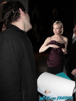 Renée Zellweger signing autographs for fans rare promo empire records