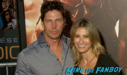 Michael Trucco on the red carpet riddick movie premiere red carpet vin diesel katie sackhoff signing autographs (20)
