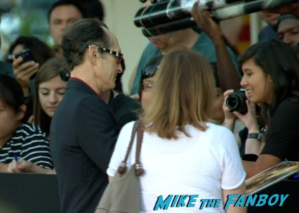 David Twohy signing autographs riddick movie premiere red carpet vin diesel katie sackhoff signing autographs (5)