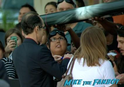 David Twohy signing autographs riddick movie premiere red carpet vin diesel katie sackhoff signing autographs (5)