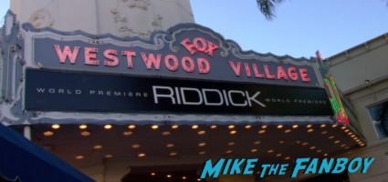 riddick movie premiere red carpet vin diesel katie sackhoff signing autographs