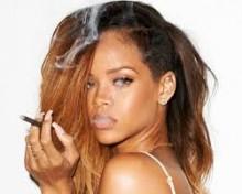 rihanna smoking hot sexy photo promo