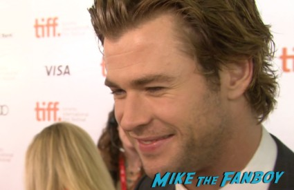 rush tiff premiere screening chris hemsworth ron howard red carpet