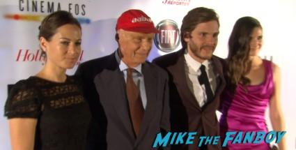 Niki Lauda signing autographs for fans rush tiff premiere screening chris hemsworth ron howard red carpet (23)
