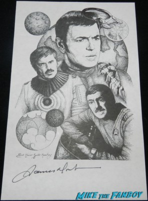 James Doohan signed autograph lithograph scotty star trek ttm autograph collecting rare william shatner 001