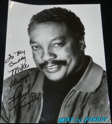 Paul Winfield signed autograph photo star trek II The Wrath of Khan star trek ttm autograph collecting rare william shatner 007