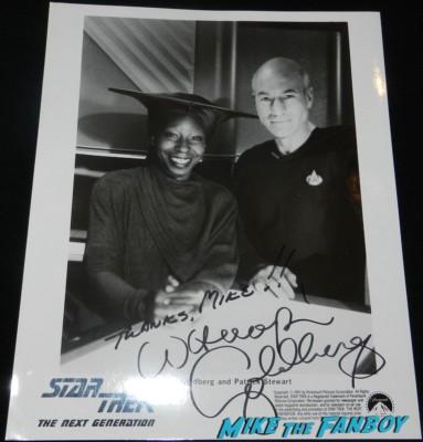 whoopi goldberg signed autograph star trek ttm autograph collecting rare william shatner 012