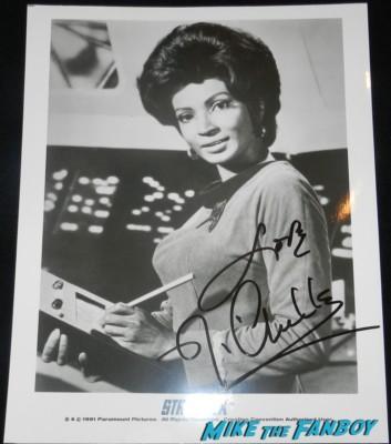 Nichelle Nichols signed autograph photo star trek ttm autograph collecting rare william shatner 016