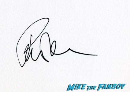 rita wilson signed autograph card rare London film festival captain phillips red carpet