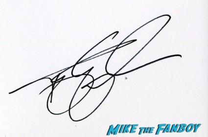 terry gilliam signing autographs Tom hanks signed autograph card rare London film festival captain phillips red carpet