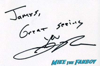 Jason Reitman signed autograph index card up in the air rare