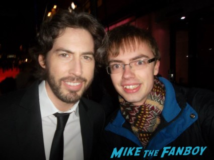 Jason Reitman signing autographs for fans rare promo hot juno director