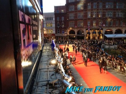 London film festival captain phillips red carpet