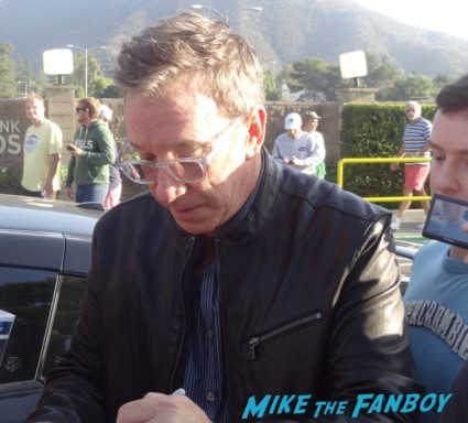 tim allen signing autographs for fans rare toy story star