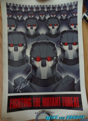 Michael Fassbender signed autograph x men days of future past poster