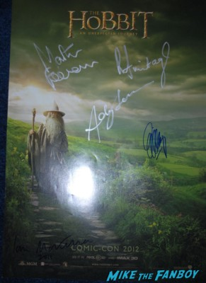sir ian mckellen signed autograph sdcc coin signing autographs for fans rare