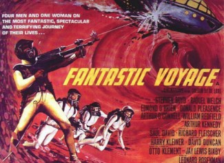 Fantastic voyage poster fantastic_voyage rare press promo still fantastic_voyage movie poster one sheet