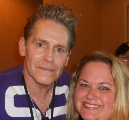 jeff conaway Kenickie fan photo signing autographs for fans rip
