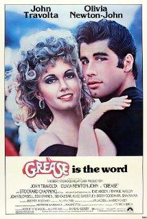 grease movie poster one sheet rare john travolta