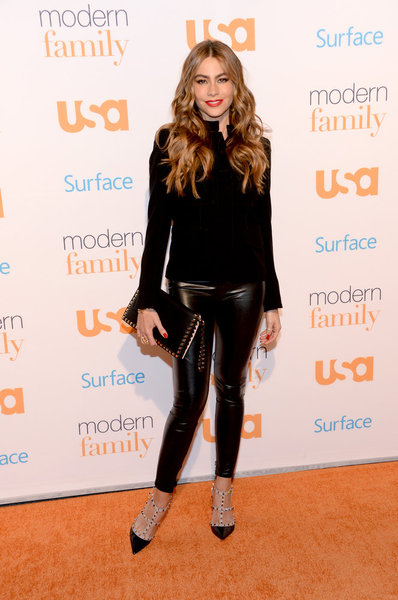 "USA NETWORK EVENTS -- ""USA Network's Modern Family Fan Appreciation Day presented by Surface in Los Angeles, CA on Monday, October 28, 2013"" -- Pictured: Sofia Vergara -- (Photo by: Jason Kempin/USA Network)"