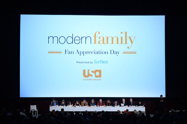 """USA NETWORK EVENTS -- """"USA Network's Modern Family Fan Appreciation Day presented by Surface in Los Angeles, CA on Monday, October 28, 2013"""" -- Pictured: Sofia Vergara -- (Photo by: Jason Kempin/USA Network)"""