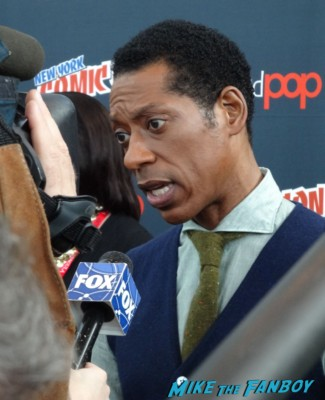 Orlando jones sleepy hollow press room rare nycc 2013