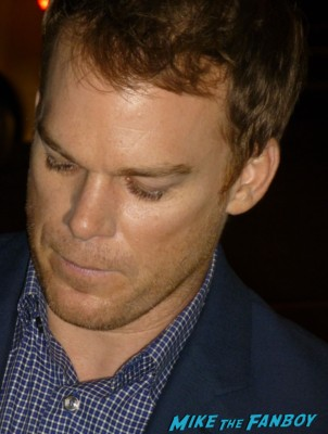 michael c hall signing autographs for fans kill your darlings movie premiere