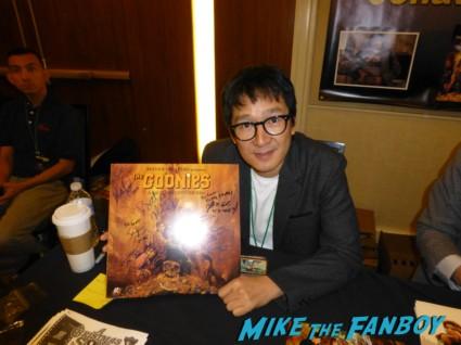 Ke Huy Quan signed autograph laserdisc the goonies rare promo