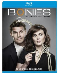 bones season 8 on blu ray key art cover