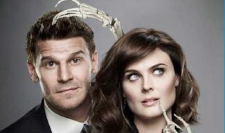 Bones season 8 promo photo rare david boreanaz emily deschanel
