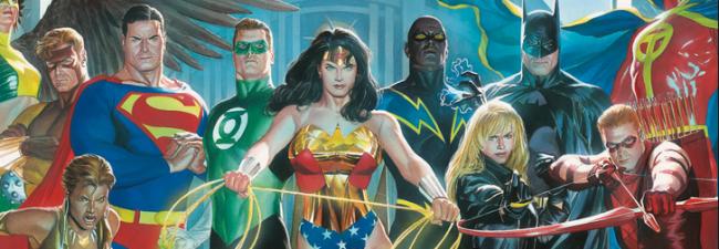 justice league cast photo logo rare promo dc