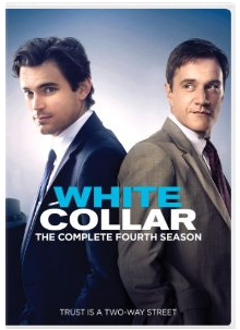 white collar season 4 dvd cover box art key matt bomer tim dekay