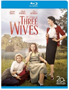 a letter to three wives blu ray cover rare promo key art