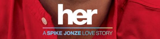 her movie poster logo rare spike jonze film