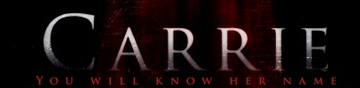 carrie movie poster logo