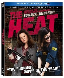 the heat blu ray cover key art the-heat promo press still sandra bullock melissa mccarthy the-heat-mccarthy-bullock-gun
