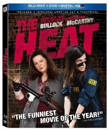 the heat blu ray cover key art the-heat promo press still sandra bullock melissa mccarthy the-heat-mccarthy-bullock-gun