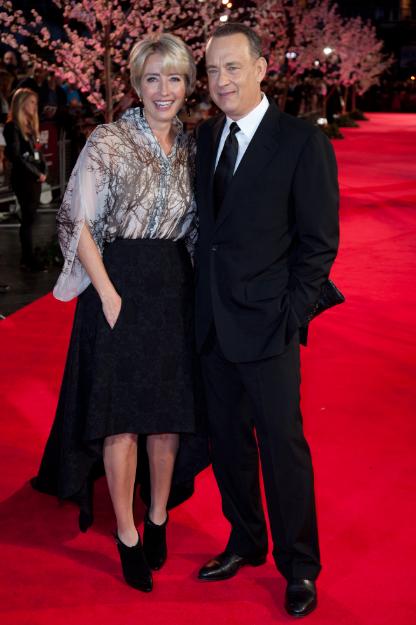 tom hanks and emma thompson Saving Mr. Banks movie premiere london film festival red carpet