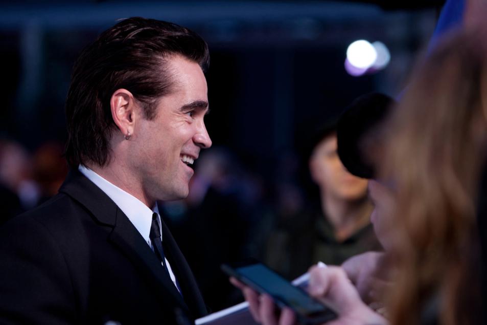 colin farrell Saving Mr. Banks movie premiere london film festival red carpet