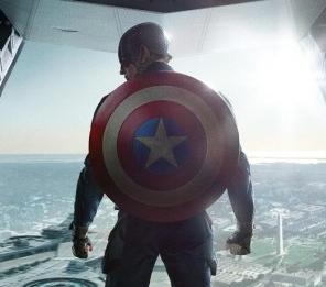 Captain America: The winter soldier logo rare chris evans marvel avengers poster