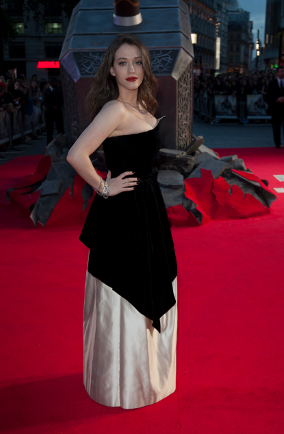 kat dennings at the Thor The Dark World London premiere