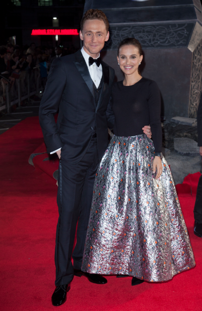 natalie portman at the Thor The Dark World London premiere