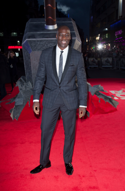 idris elba at the Thor The Dark World London premiere