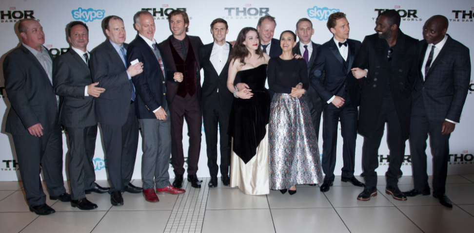 Thor The Dark World London premiere