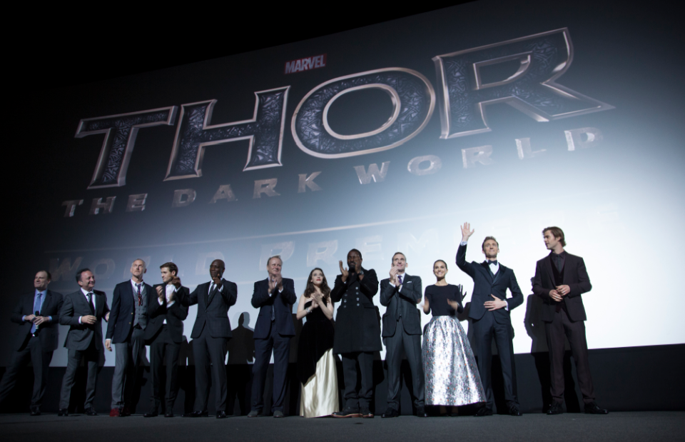 Thor The Dark World London premiere