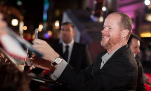 joss whedon autographs at the Thor The Dark World London premiere