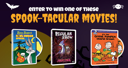 WB Halloween movies contest giveaway